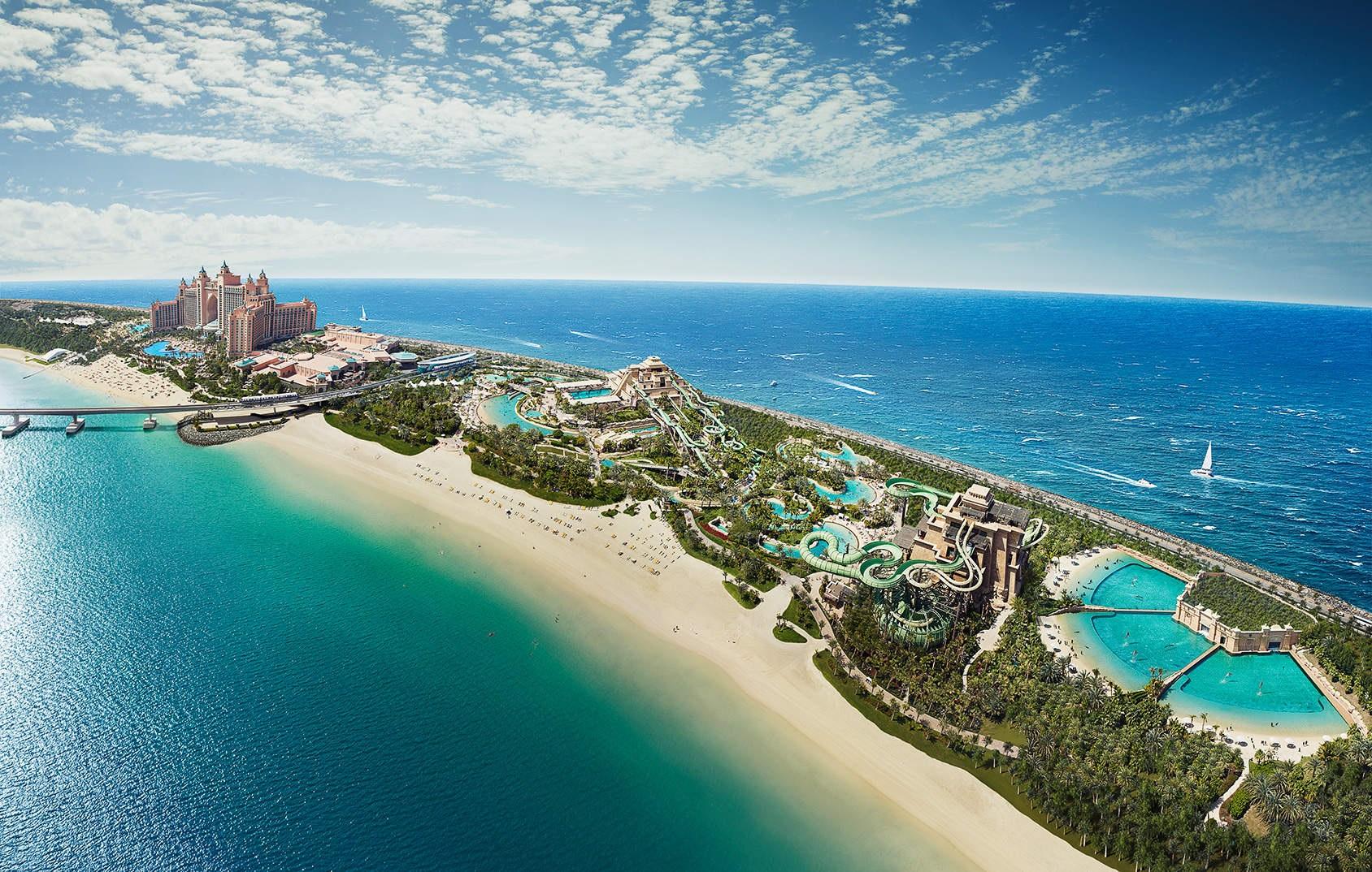"""Развлечения для всей семьи в """"Atlantis The Palm"""", Дубаи"""