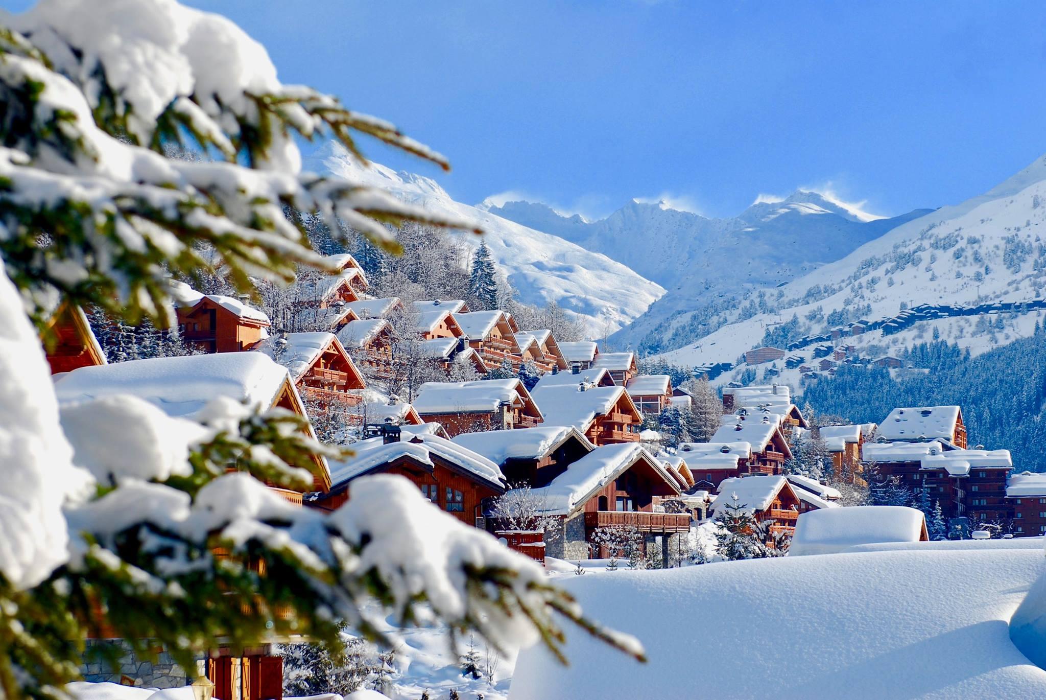 Французские Альпы на Рождество