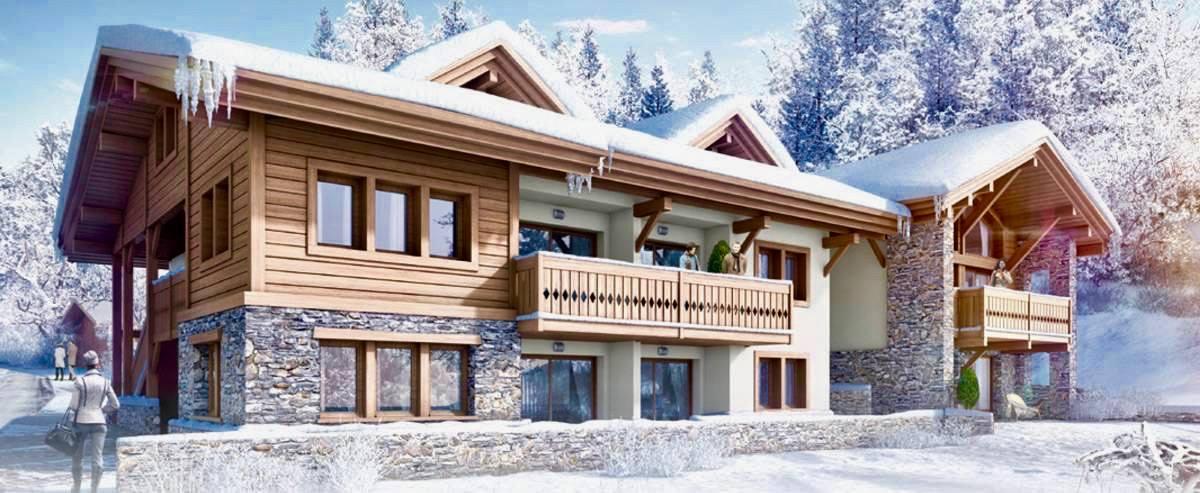 Новейшая первоклассная резиденция 5* в центре Шамони CRISTAL DE JADE RESIDENCE MGM 5*!! Франция.