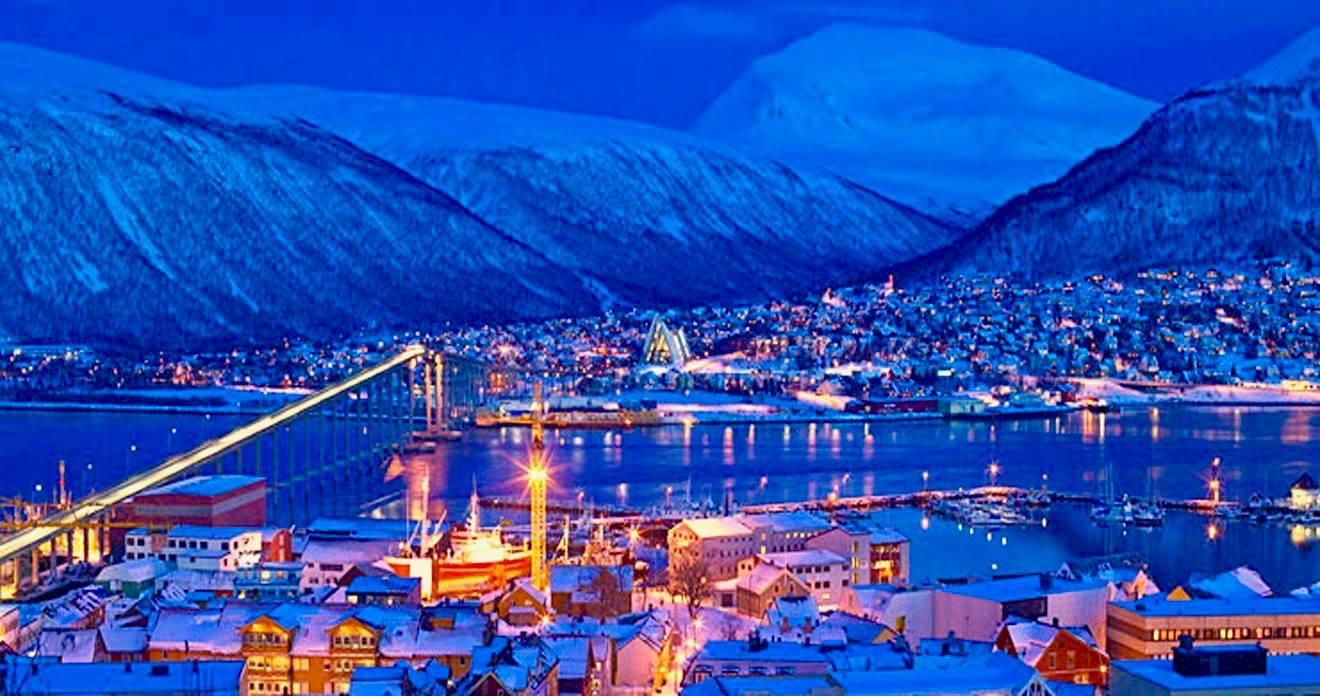 Новый год в Осло в традициях севера!