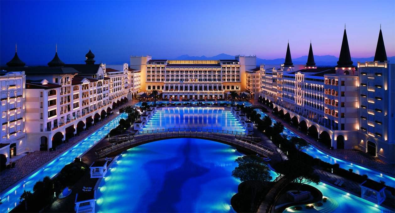 """Отель - ПРАЗДНИК """"Mardan palace"""", Анталия, Турция"""