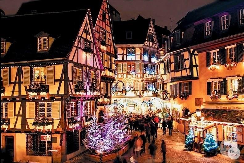 Рождественские ярмарки Страсбурга!