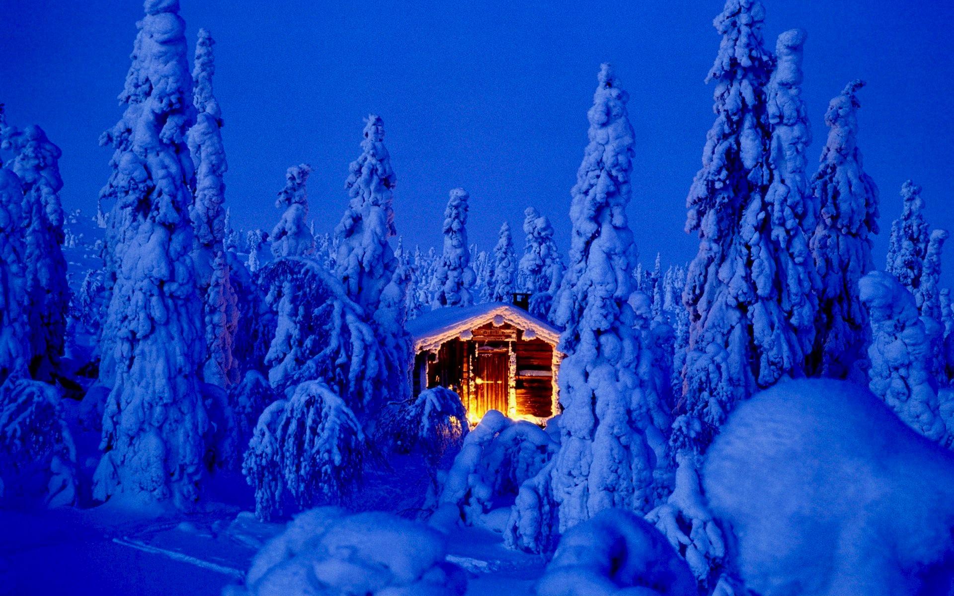 Снежное рождество в Лапландии!