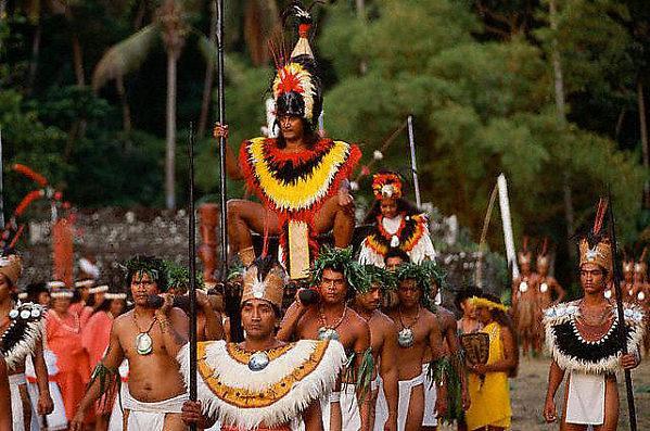 Таитянский король