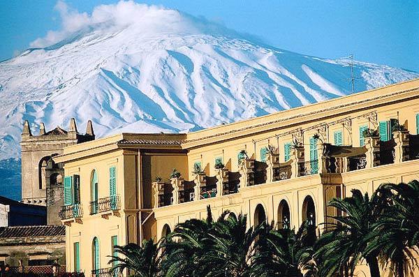 Вулкан Этна, остров Сицилия