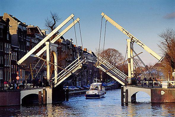 Канал Nieuwkeizersgracht, Амстердам