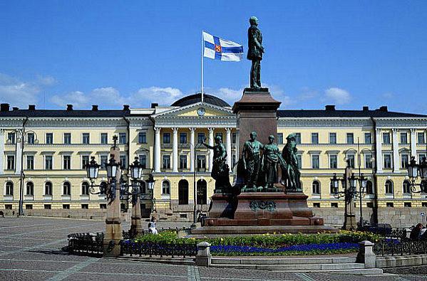 Дворец Правительства, Хельсинки