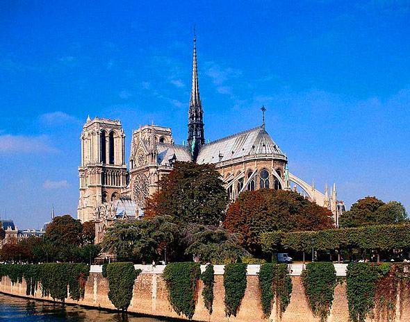 Собор Парижской Богоматери, Париж