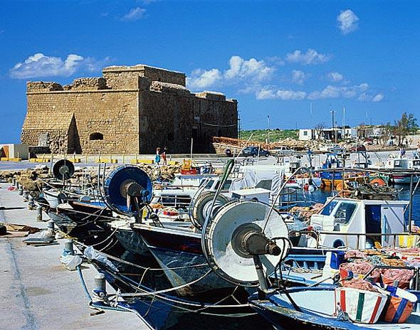 Замок 14 века, Пафос
