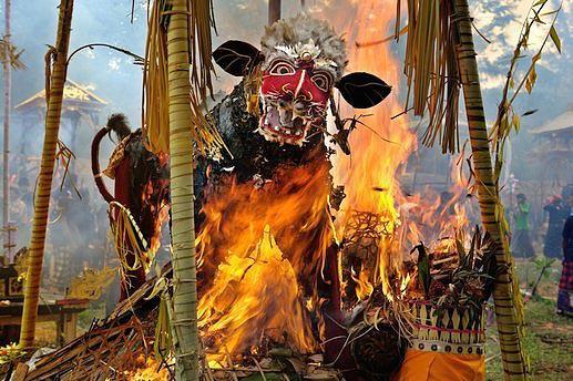 Балийская кремация
