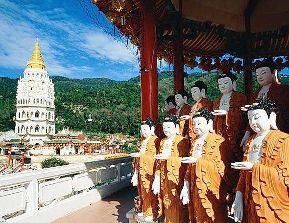Айер Хитам, храм Кек Лок Си, остров Пенанг