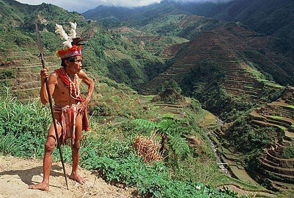 Мужчина племени Ифугао, остров Лузон
