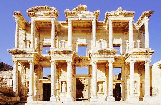 Руины библитеки, Эфес