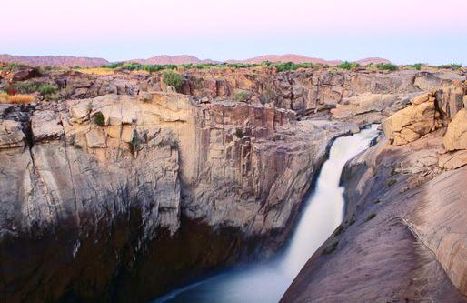 Водопады Ауграби